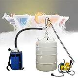 EFGSbed Recipiente Criogénico Nitrógeno Líquido, Dewar Líquido Aluminio, Velocidad Salida: ≥8 litros/Minuto, Presión: 0,5 Pa, para Nitrógeno Líquido, Gases Licuados Y Hielo Seco