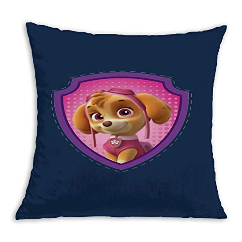 Pa-w Pat-rol Seal Skye Comfortable Pillowcase Home Decoration Garden Cushion Cover Square Inside and Outside