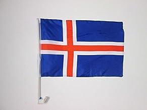 AZ FLAG Bandera de Islandia 90x60cm Bandera ISLANDESA 60 x 90 cm