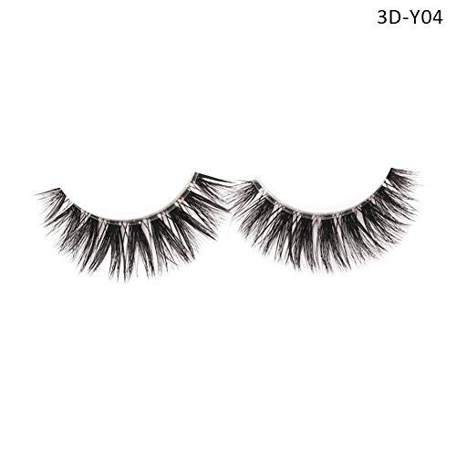Faulse Eyelashes Set 3D Natural Easy To Use Beautiful Suitable For Women's Eye Decoration