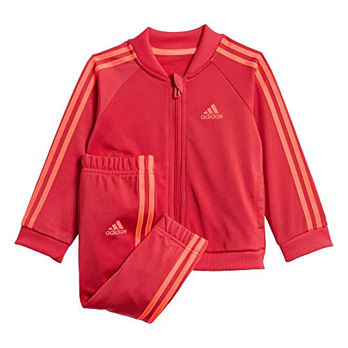 adidas Kinder I 3S TS TRIC Tracksuit, Power pink/Power pink/Signal pink, 3-6M
