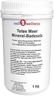 Dead Sea Mineral Sels de bain 1,0 kg d'étain - 100% de sel pur à un prix spécial