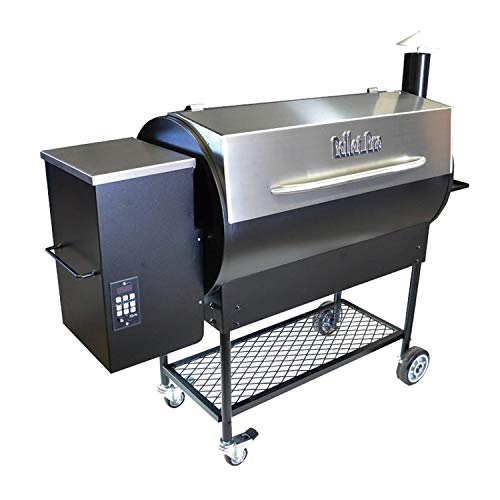 Pellet Pro Upgraded 1190 Deluxe Stainless Steel Pellet Grill with Free Cover and Free Home DELIVERY!