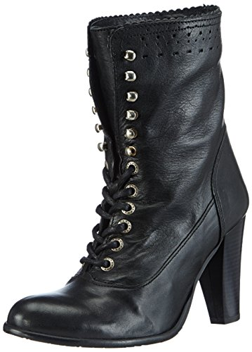 Stockerpoint Damen 4485 Kurzschaft Stiefel, Schwarz (schwarz nappa), 41 EU