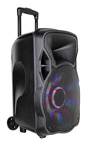 ALTAVOZ MULTIMEDIA K150 CON SUBWOFER PORTATIL INFINITON (Bluetooth, Microfono, USB, Radio FM, Control remoto, BATERIA INCLUIDA) 150W