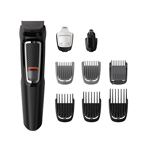 Philips MG3740/15 - Recortadora para barba y pelo, 9 en 1, a