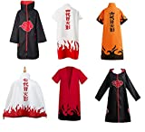 ZHJMLF anime costume cosplay party naruto cloak for birthday gifts