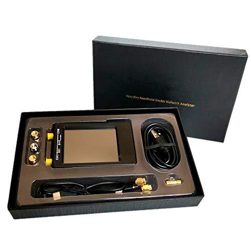 Vector Network Analyzer Kit, MF HF VHF UHF-antenne Analyzer, draagbare handheld digitale Antenna Analyzer met 2.8inch LCD-scherm voor Radio Simulation Software