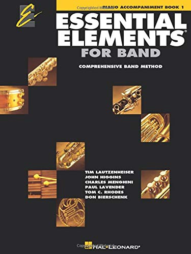 Essential Elements 2000, Book 1: Piano Accompaniment; Comprehensive Band Method (Essential Elements Bk. 1)