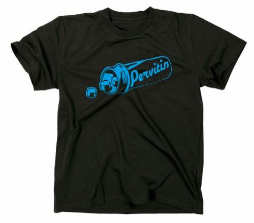 #1 Crystal Meth Pervitin T-Shirt Cook Breaking Bad, Heisenberg, XL, schwarz