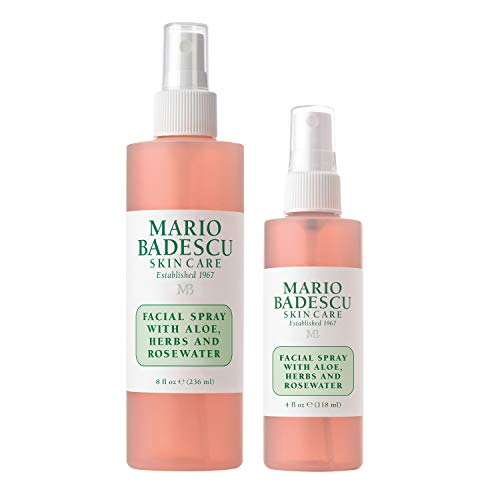 Mario Badescu Facial Spray with Aloe, Herbs & Rosewater, Combo 1