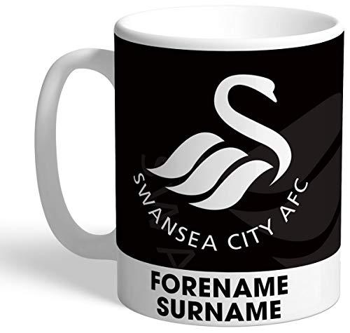 Swansea City Personalised AFC Bold Crest Mug