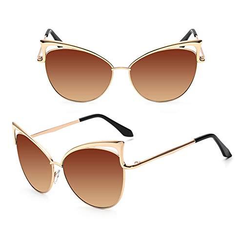CLZC zonnebril Cat Eye dames zonnebril zonnebril brilmontuur legering vintage UV400