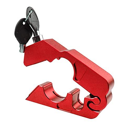 BAOLE Dispositivo de Bloqueo de Manillar Impermeable con Bloqueo antirrobo para Motocicleta con instalación rápida para Scooter de Bicicleta para ATV Candid