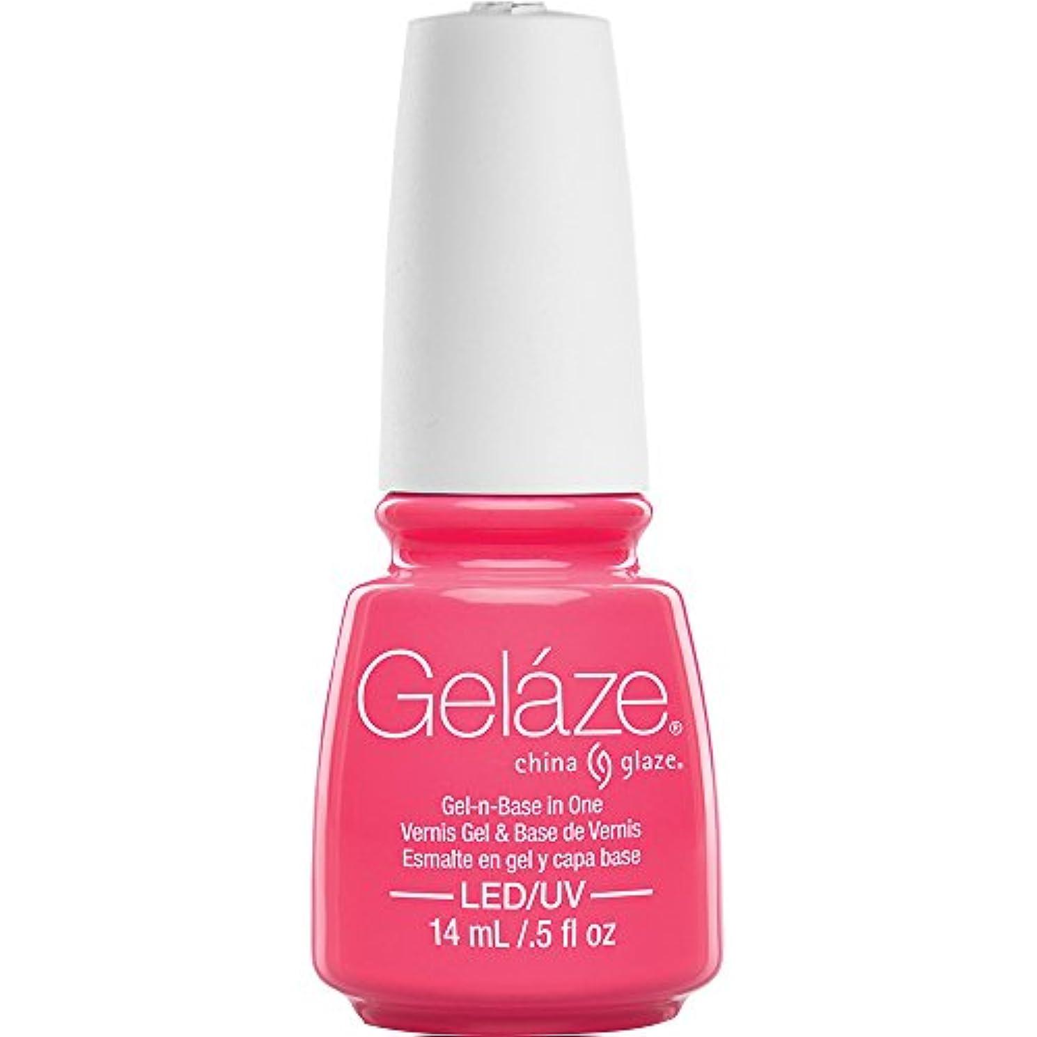 China Glaze Gelaze 81646 Shocking Pink
