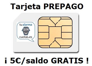 Tarjeta SIM PREPAGO con 5 Euros y multiformato