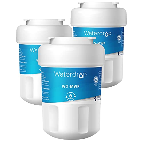 Waterdrop MWF Refrigerator Water Filter, Compatible with GE Smart...