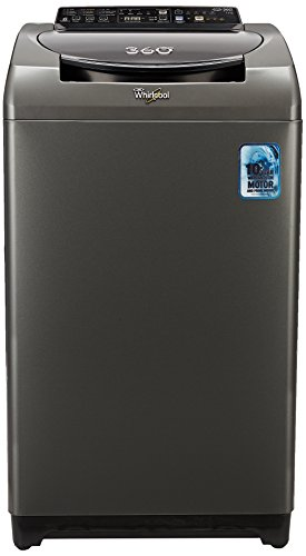 Whirlpool 7 kg Fully-Automatic Top Loading Washing Machine (360 Degree Bloomwash Ultra 7.0, Graphite)