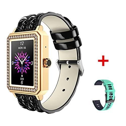 M66 Smart Watch for Women 1.65 Pulgadas Pantalla De Color Táctil Full Táctil Bluetooth Call Heart Rate Presión Arterial Soporte De Sueño Android iOS,A