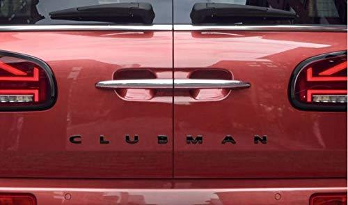 Originele mini-opschrift F54 Clubman Piano Back zwart