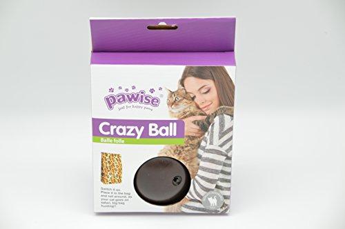 GoodView Intelligenzspielzeug für Katzen Interaktives Katzenspielzeug Crazy Ball