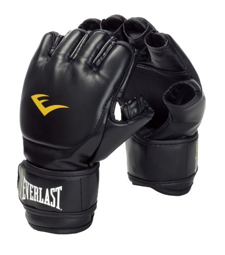 Everlast 7560 Grappling Handschuh Pu , black, sm