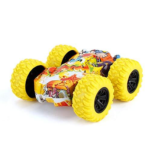 Huemny Doble cara Stunt Graffiti coche resistente a la cada de juguete coche todoterreno modelo coche de juguete para nios nias regalo de Navidad cumpleaos