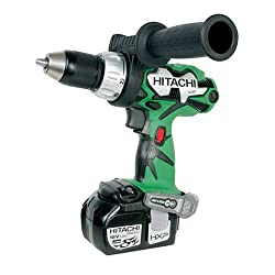 Hitachi DS18DL 18-Volt Lithium-Ion 1/2-Inch Cordless Driver Drill: Home Improvement