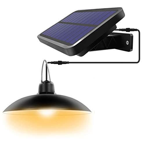 Solarlampen für Außen,SUAVER Solar Hängelampe Laternen Wasserdicht LED Außenstrahler Tragbare Solarleuchte Solar Pendelleuchte für Garten,Hof und Garage (Warmweiß)