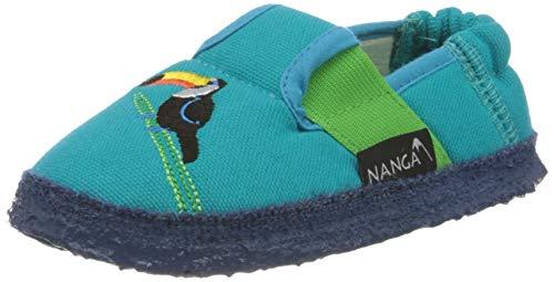 Nanga Mädchen Kindergarten Schuhe Tucan türkis 34