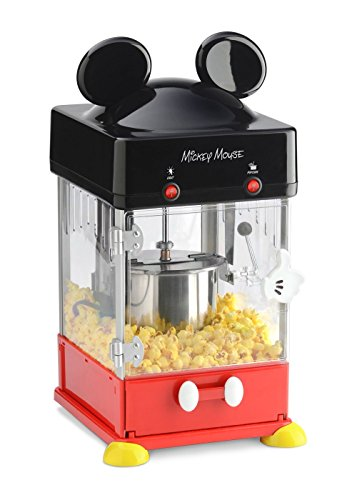New Disney Mickey Kettle Style Popcorn Popper (Renewed)