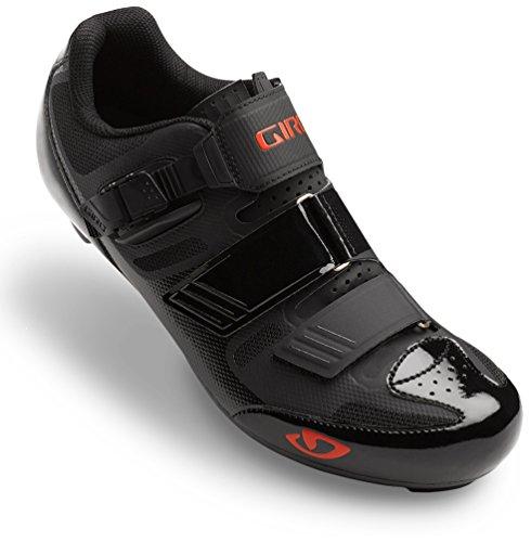 Giro Apeckx II HV Rennrad Fahrrad Schuhe schwarz/rot 2019: Größe: 39