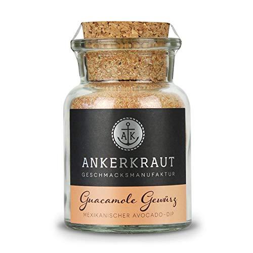 Ankerkraut Guacamole Gewürzmischung Korkenglas 110 g Avocado-Dip Dipgewürz