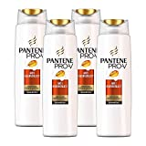 Pantene Pro-V Anti-Haarverlust Shampoo für brüchiges Haar,  4er Pack (4 x 300 ml)