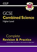 New GCSE Combined Science Higher Complete Revision & Practice w/ Online Ed, Videos & Quizzes