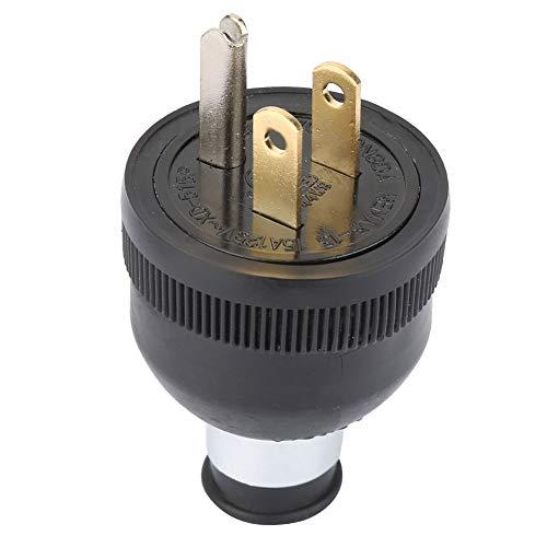 Enchufe de Hoja Recta NEMA 5-15P 15A 125V 2 polos Enchufe de Alimentación de EE. UU. Conector Macho 50-60 (HZ)