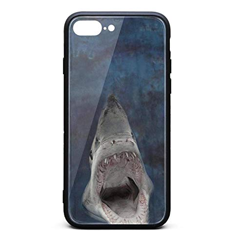 LQIAO Shark Tie Dyeing Seabed Lorenzo iPhone 7 Plus/8 Plus Cases Slim Shock Absorbent Mobile Phone Case Art