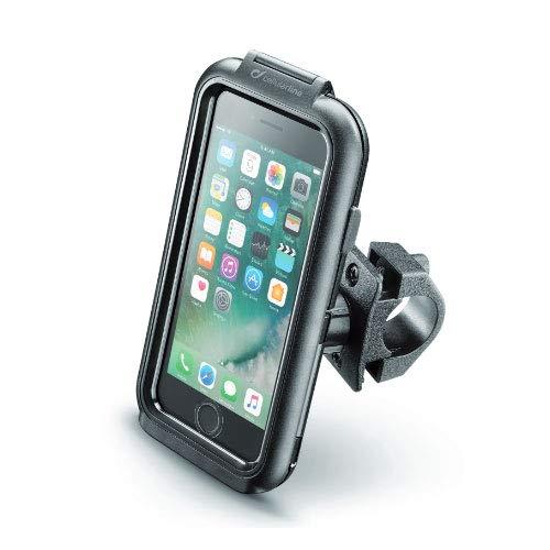 Cellularline SMIPHONE8 - Soporte (Teléfono móvil/smartphone, Soporte pasivo, Bicicleta, Motocicleta, Negro)