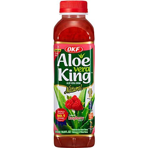 OKF Boisson Aloe Vera Framboise 500 ml 0.5 kg - Pack de 20