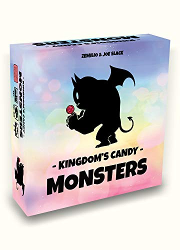 LITTLE ROCKET GAMES Kingdom Candy Monsters - Juego de mesa en italiano
