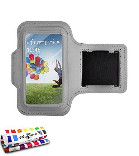 Muzzano echte armband voor Samsung Galaxy S3 – grijs