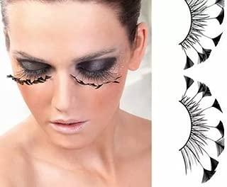 Dorisue Halloween eyelashes Spider eyelashes Firework Feather eyelashes Custom Cosplay Dramatic Extra Long lashes for Party