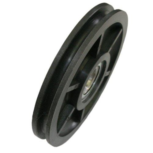 Seilrolle Kunststoff 100 mm Seil Ø 5 mm DO