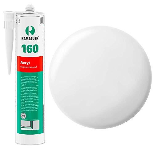Ramsauer 160 Acryl 1K Acryl Dichtstoff 310ml Kartusche (Weiß)