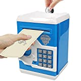 HUSAN Great Gift Toy for Kids Code Electronic Piggy Banks Mini ATM Electronic