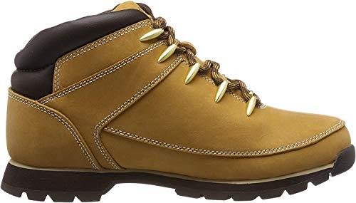 Timberland Euro Sprint Hiker, Zapatillas Chukka para Hombre, Amarillo (Wheat), 45 EU