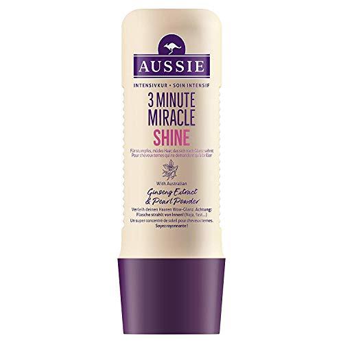 3x Aussie Intensiv-Haarkur 3 Minute Miracle Shine stumpfes & müdes Haar je 250ml