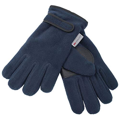 Socks Uwear Kinder Fleece-Handschuhe Thinsulate GL114 - Blau - Navy - 13 Jahre