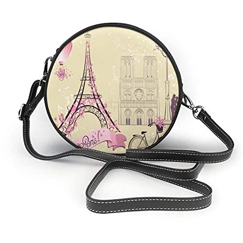 DGYT Torre Eiffel Globo de Aire Caliente Bicicleta Romántic