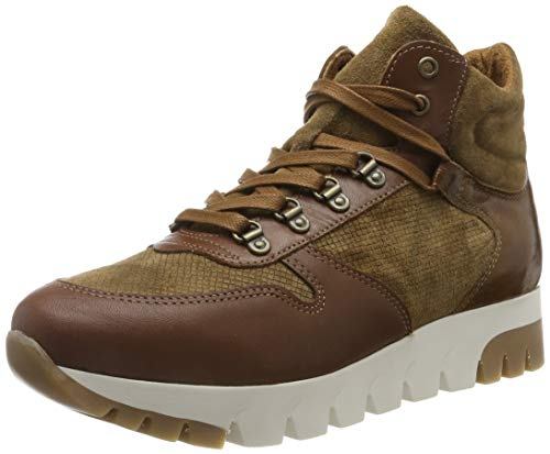 Tamaris Damen 1-1-25252-23 Hohe Sneaker, Braun (Cognac 305), 41 EU